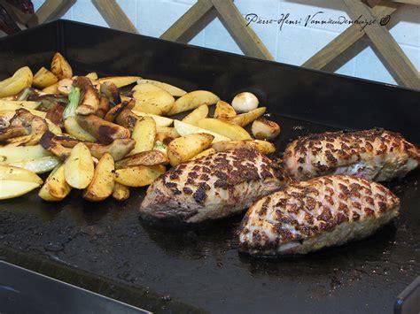 la cuisine a la plancha plancha de magret de canard sauce foie gras quot primeur