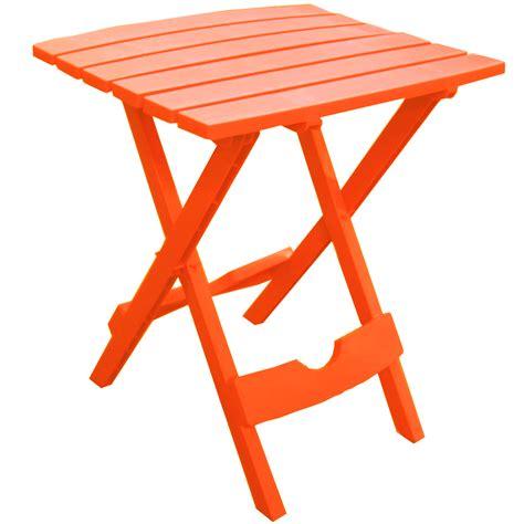 quik fold side table orange 8500 28 3700