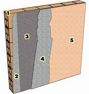 Enduit Exterieur Avant Peinture : armature fibre de verre liaison dalle mur ~ Premium-room.com Idées de Décoration