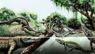 Giant Prehistoric Crocodile Species