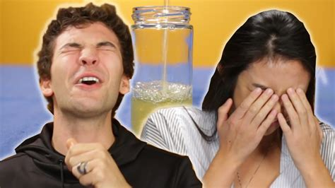 People Try Drinking Their Own Pee For The First Time Youtube