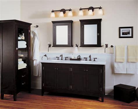 Oak Bathroom Light Fixtures by Black And White Contemporary Bathroom Vanity Light