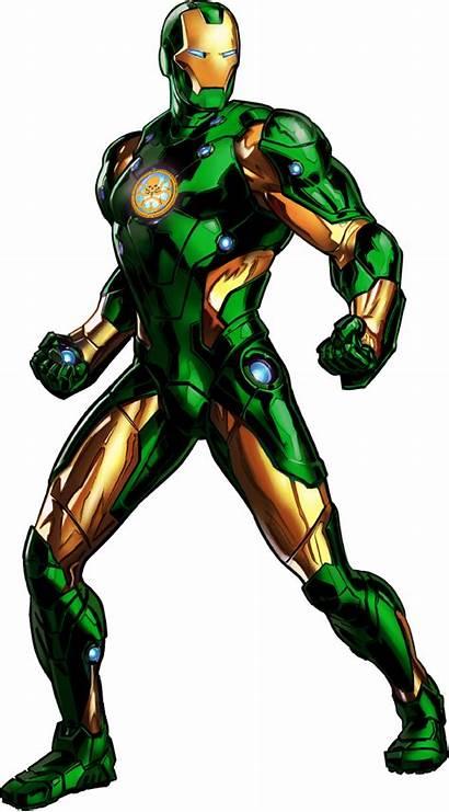 Marvel Avengers Alliance Heroes Iron Deviantart Villains