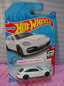 Browse porsche cars and collect them all! PORSCHE PANAMERA TURBO S E-HYBRID SPORT TURISMO #44 US white 2020 Hot Wheels | eBay