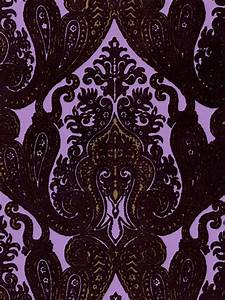17 Best images about Flocked Velvet Victorian Wallpapers ...