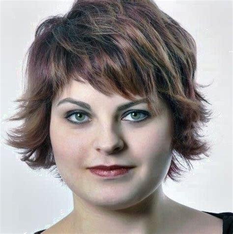 short hairstyles for fat women over 50 hairstyles