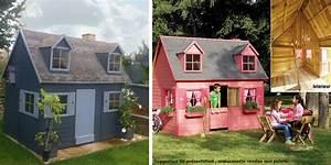 Maison Enfant Castorama : maisonnette en bois lalie cabane en bois ~ Premium-room.com Idées de Décoration