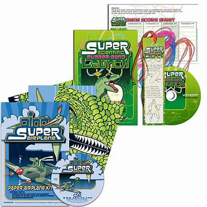 Biblical Launch Science Activities Kits Rubber Band