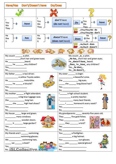 Teaching Basic English Worksheets Homeshealthinfo