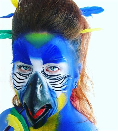 parrot makeup designs trends ideas design trends