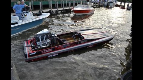 Drag Boat Racing Start by A Rowdy Time Drag Boat Racing At Blarney Island