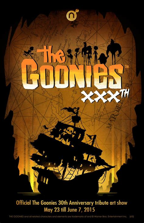 gallery nucleus presents  goonies  anniversary art