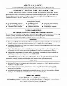 supervisor resume sample monstercom With resume samples for supervisor positions
