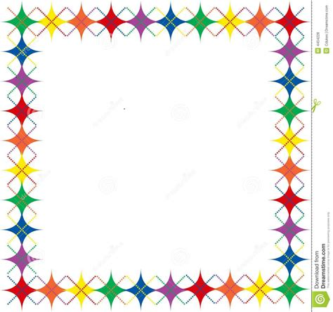 Halloween Border Clip Art colorful star borders clipart china cps