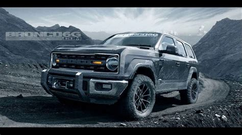2019 Ford Bronco New World Design And Specs