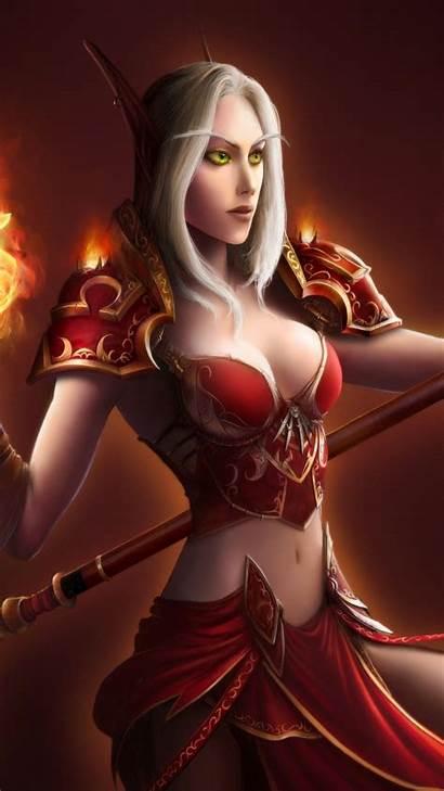 Fantasy Warrior Female Warriors Wallpapers Anime Mobile