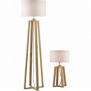 Dar pyr4943 pyramid floor and table lamps wooden lampss for Wood pyramid floor lamp
