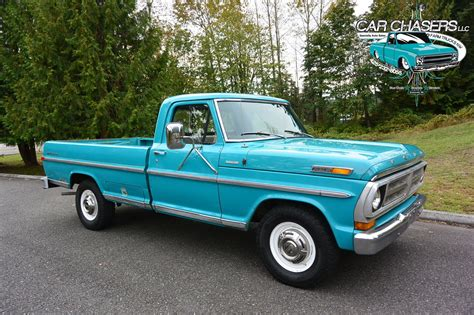 This 1971 Ford F-250 Is A One Owner Survivor