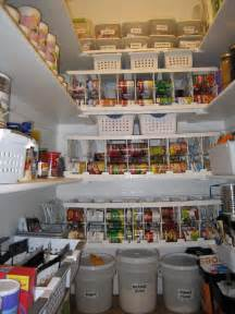 Food Storage Pantry Organization