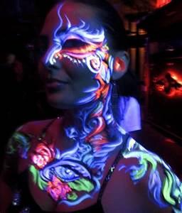241 best images about Face Paint- UV Paint on Pinterest ...