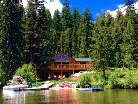lake cabin beautiful lakefront cabin on lake inez seeley lake