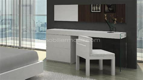 coiffeuse bureau design crystalline mobilier moss