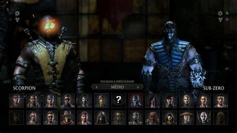 Mortal Kombat Scorpion Wallpaper Mortal Kombat X Scorpion Vs Sub Zero Gameplay Pt Br Dublado Ps4 Youtube