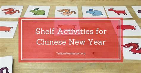 new year preschool activities trillium montessori 661 | Shelf Activities about Chinese New Year for Montessori Preschool