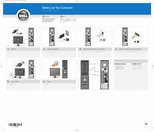 Dell Dimension 3100  E310 Desktop Quick Start Guide