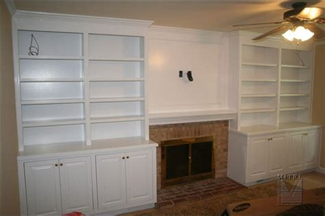 Built In Cabinetry With Storage Base Cabinets Surrounding