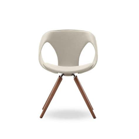 up chair 31 chaise design cuir bois rembourr 233 e tonon