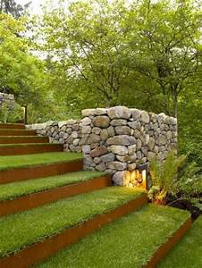 les 25 meilleures idees de la categorie amenagement With superb amenager jardin en pente 9 amenagement terrasse et jardin photo meilleures images d