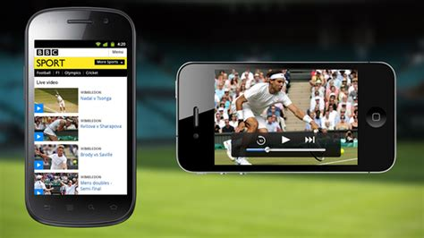 BBC Sport launches new mobile site with video streaming