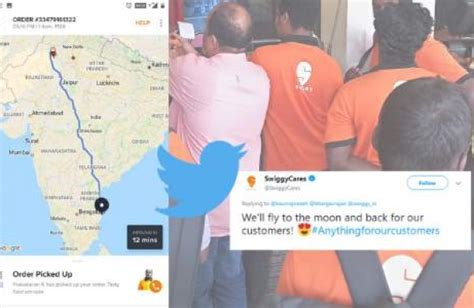 chennai man orders food  swiggy shocked   delivery