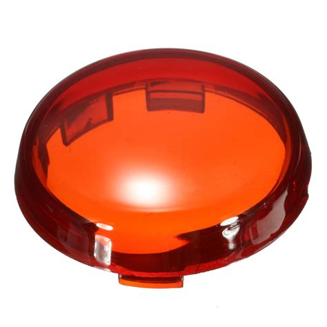 motorcycle turn signal light lens cover  harley dyna