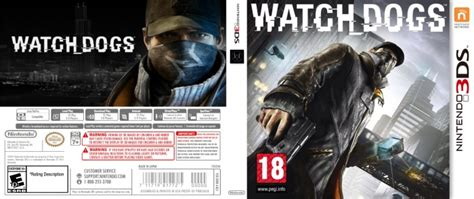 Watch Dogs Nintendo 3ds Box Art Cover By Themonster38fr