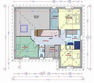 Idée Plan De Maison : idee plan maison en longueur evtod ~ Premium-room.com Idées de Décoration