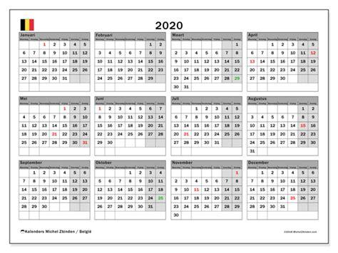 kalender belgie michel zbinden nl