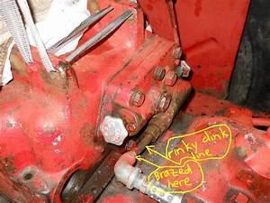 Intl 434 - Funky Hydraulic Line