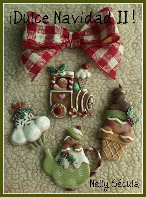 484 Best Images About Cold Porcelain Christmas On