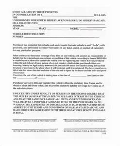 Installment Payment Agreement Sample Free 7 Car Purchase Agreement Samples In Ms Word Pdf