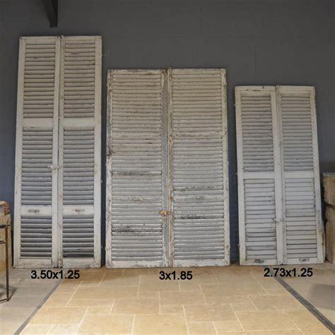 volet persienne en bois ancien ancien volet persienne bca mat 233 riaux
