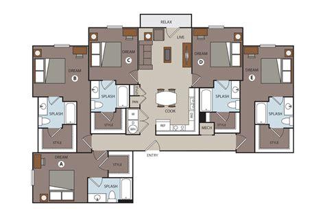 5 bedroom floor plan 5 bedroom apartment floor plans savae org