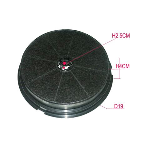 filtre hotte cuisine hotte de cuisine filtre charbon filtre au charbon actif fh54 axelair filtre charbon de hotte