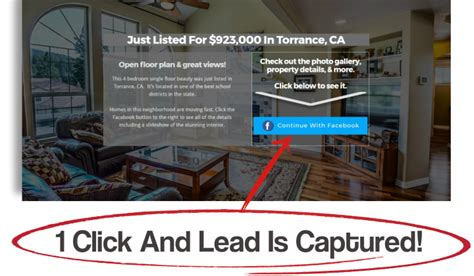 facebook landing pages  real estate postaprop