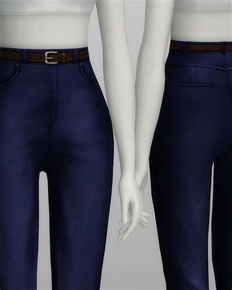 High waist jeans at Rusty Nail » Sims 4 Updates