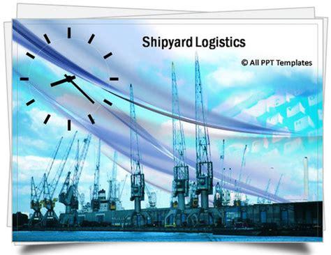 powerpoint shipyard logistics template