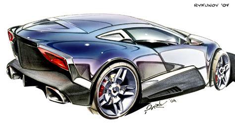 Concept Car Sketch 6 By Rykunov On Deviantart