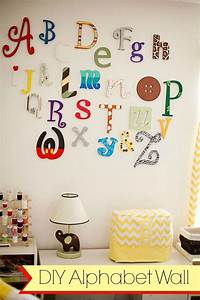diy wooden alphabet wall letters tutorial playroom With where to buy wall letters for nursery