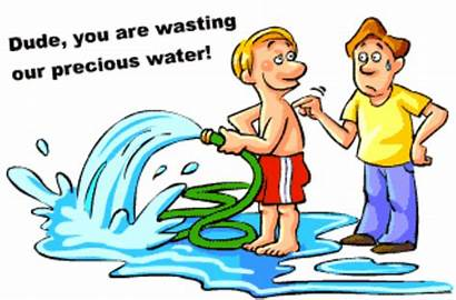 Water Clipart Save Wasting Clip Ways Cliparts